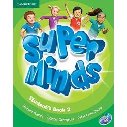 "Lengua Inglesa: ""Super minds. Student's book 2"" (2º Primaria)"
