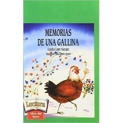 """Libros Lectura Personal: """"Memorias de una Gallina"""" (3º Primaria)"""
