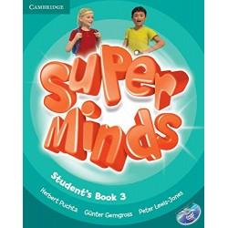 "Lengua Inglesa: ""Super Minds. Students Book 3"" (3º Primaria)"