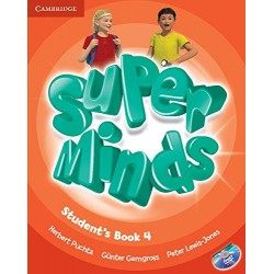 "Lengua Inglesa: ""Super Minds. Students Book 4"" (4º Primaria)"
