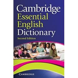 """Diccionario Inglés: """"Cambridge Essential"""