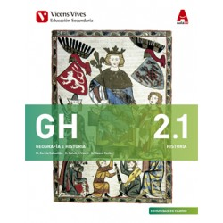 """Geografía e Historia: """"Libro 1 Historia y Libro 2 Geografía"""" (2º ESO)"""