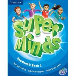"Lengua Inglesa: ""Super minds. Student's book"" (1º Primaria)"