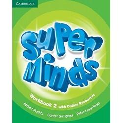 Super Minds Level 2 Workbook with Online Resoruces and Super Grammar Booklet (2º Primaria)