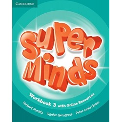 Super Minds Level 3 Workbook with Online Resoruces and Super Grammar Booklet (3º Primaria)