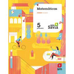 Matemáticas: Proyecto Savia (5º Primaria)