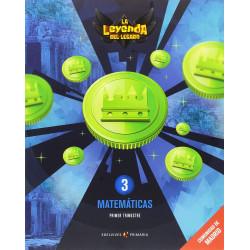 """Matemáticas 3ºEP. """"La leyenda del legado"""""""