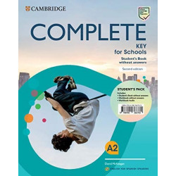 Complete Key for Schools for Spanish Speakers Student's Book without answers 2nd Edition 5ºEP