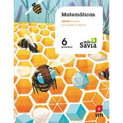Matemáticas: Proyecto más Savia (6º Primaria)