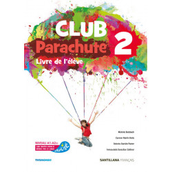 "Francés: ""Parachute 2"" (2º ESO)"