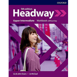 "Inglés: ""Headway, Upper-Intermediate. Work Book "" (1º Bachillerato)"