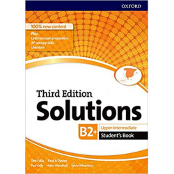 Solutions Upper-Intermediate. Student´s book 4º ESO 3rd Edition