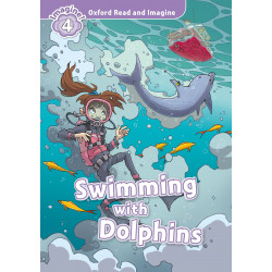 """""""Swimming with dolphins"""""""