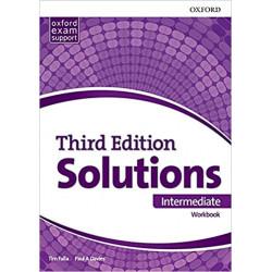 "Inglés: ""Solutions Intermediate. Student's Workbook"" (2º ESO)"