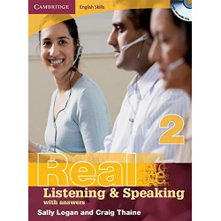 Camridge English Skills Real Listening and Speaking Level 2 without answers.