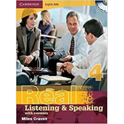 Camridge English Skills Real Listening and Speaking Level 4 without answers.